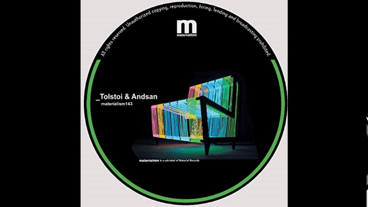 Download Tolstoi, Andsan - Tapa's (Original Mix) [Materialism]