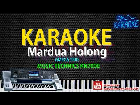 KARAOKE Mardua Holong [ Omega Trio ] Technics KN7000 HD Quality Lagu Batak Video Lirik No Vocal 2018