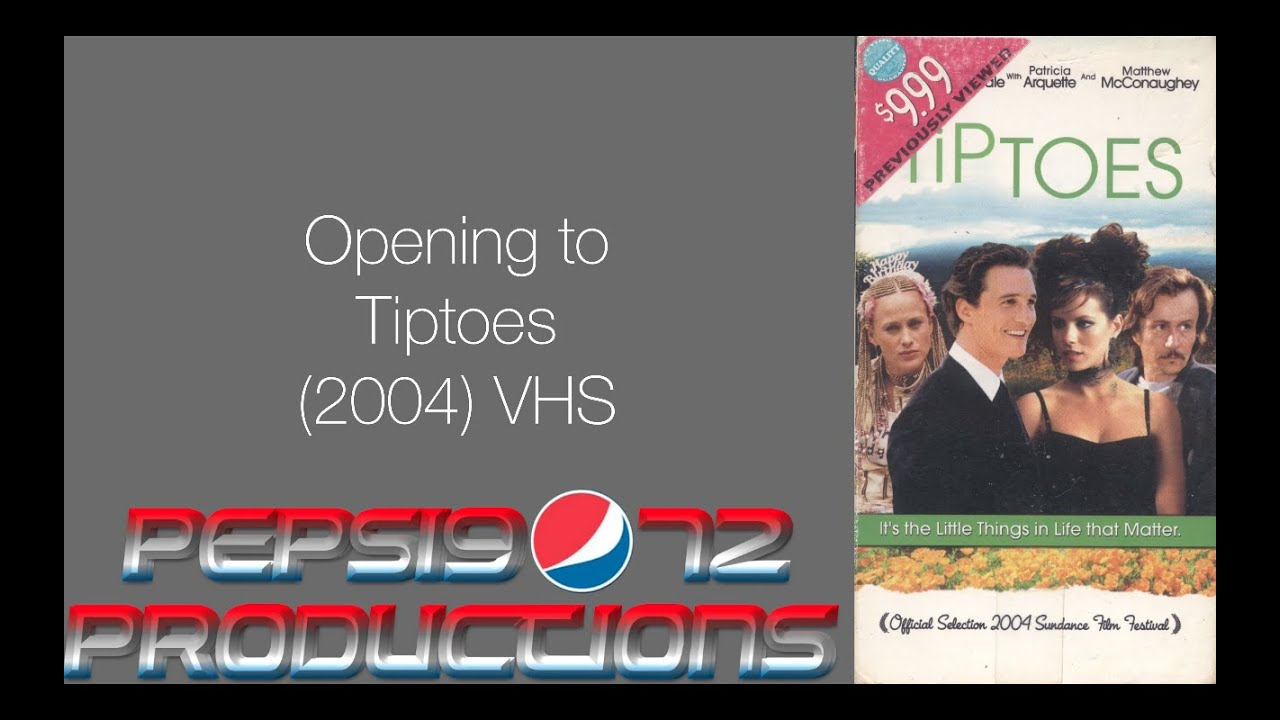 Opening To Tiptoes 2004 Vhs Youtube
