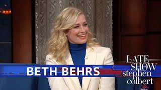 Beth Behrs Auditioned In Front Of Julie Andrews