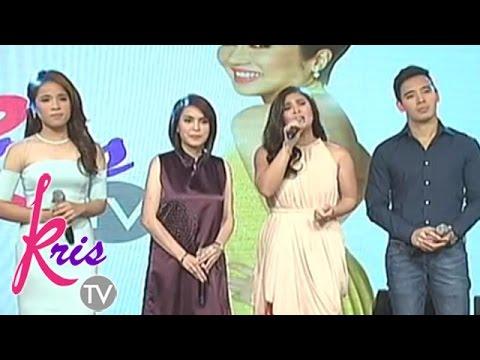 Jamie, Erik, Klarisse, Vina sing 'Jubilee Song' on Kris TV