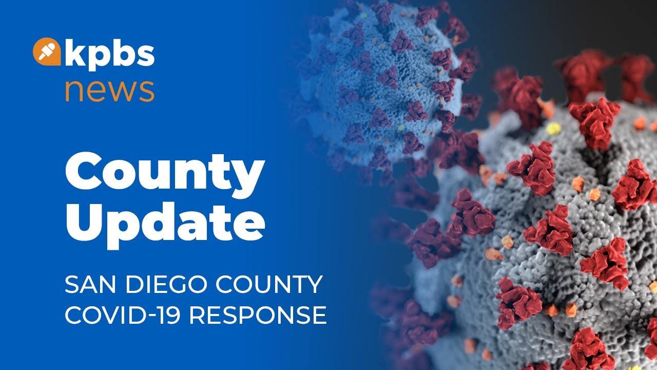 San Diego County Gives Covid 19 Update Youtube