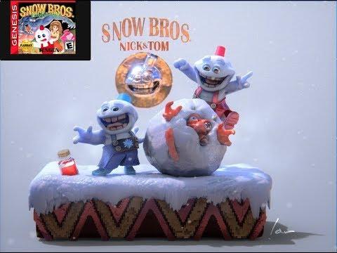 Snow Bros Sega Genesis Analisis