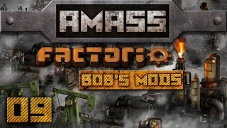 Pushing The Wall [9] Amass Factorio 0.12.3 With Bob's Mods