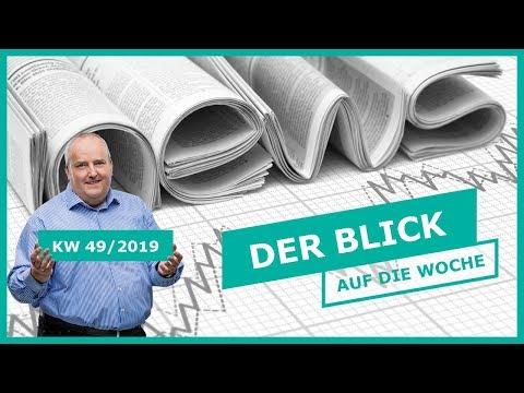 Markttechnik: Der Blick auf die Woche | KW 49/2019