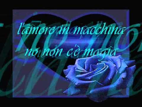Michele Zarrillo-Una rosa blu + testo