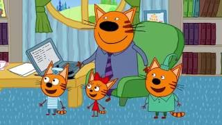 Три кота | Говорящая птица | Серия 14 | Мультфильмы для детей