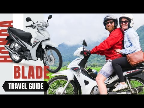How to buy a motorbike in Vietnam the Honda Blade Semi Automatic