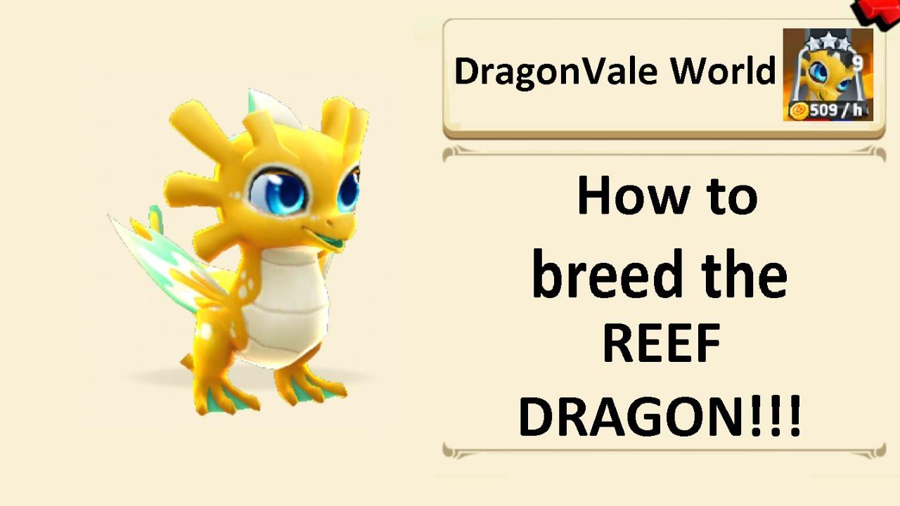 Breeding the Reef dragon in DragonVale World