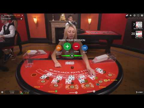 £500 Vs Live Dealer Casino Blackjack VIP Table Online