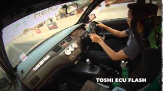 Lancer Cedia 1.6T Stock ECU by Toshi ECU Flash University Drag Party