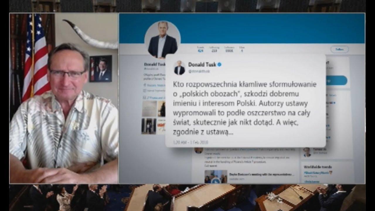 Cejrowski o Tusku: tak się zachowuje świnia