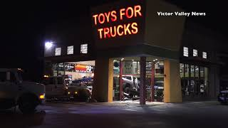 Man Crashes Truck Into Toys For Trucks Business In Hesperia