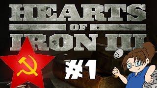 Let's Play Hearts of Iron 3 - Soviet Union #1 [Setup & Technology]