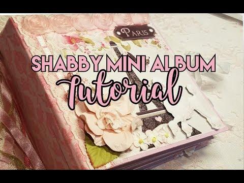 Ohh La La Mini Album Tutorial for Nitwit Collections