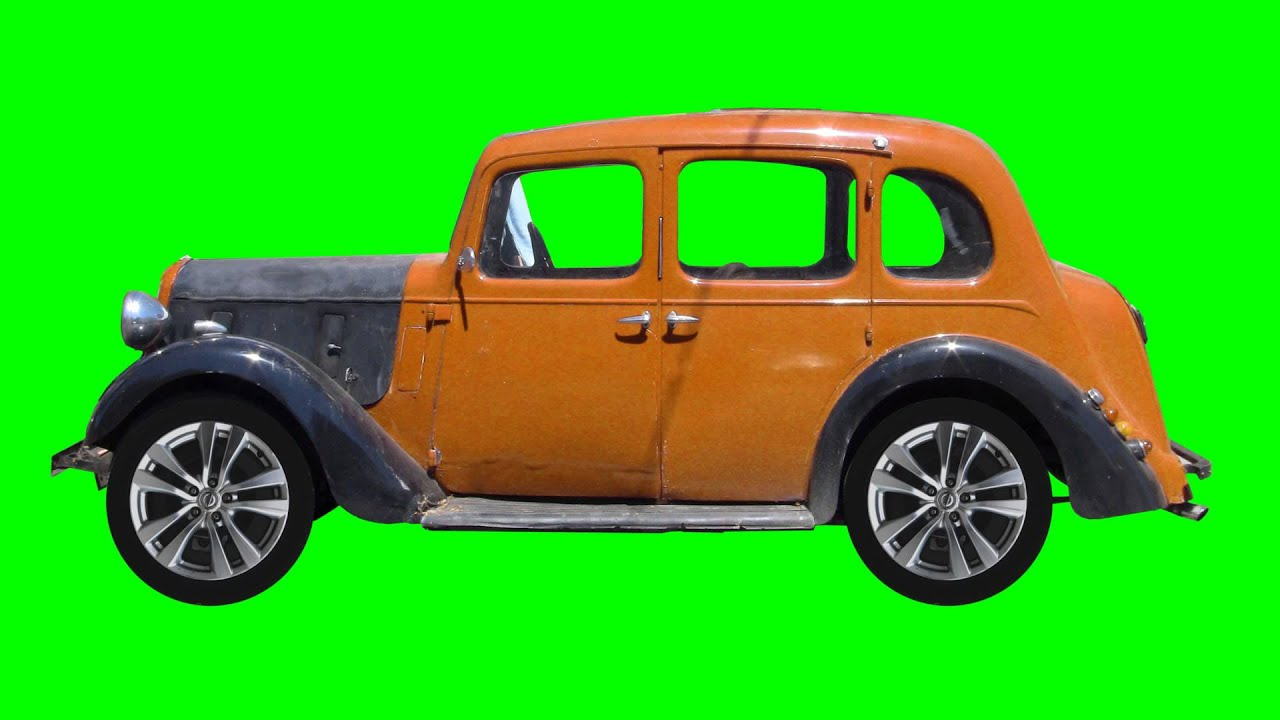 Vintage CAR ANIMATION Green Screen FREE FOOTAGE HD - YouTube