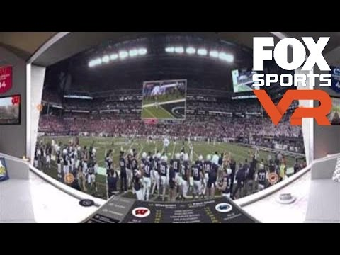 Big 10 Championship Game | 360 VIDEO | COLLEGE FOOTBALL ON FOX