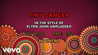 Elton John - Tiny Dancer (Karaoke)