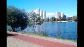 Тельбин 9  сентября - Озеро - Ветер