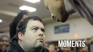 Moments - Epic Stare Game at NEC 14 (NSFW)