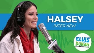 Halsey Chats Designing Her Stage + Being Strangely Calm After Performing | Elvis Duran Show