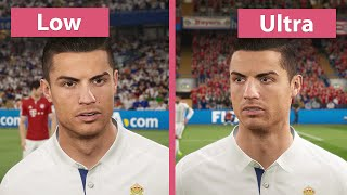 FIFA 17 Demo – PC Low vs Ultra Graphics Comparison 1440p
