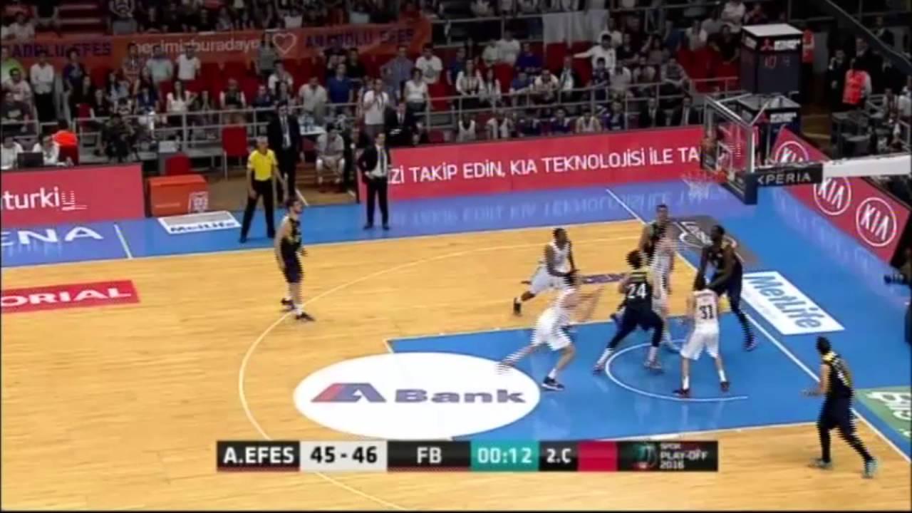 Anadolu Efes - Fenerbahçe Final Serisi 2. Maç - Maç Özeti