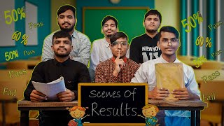 Scenes Of Results || Types Of People - Kaminey Frendzz
