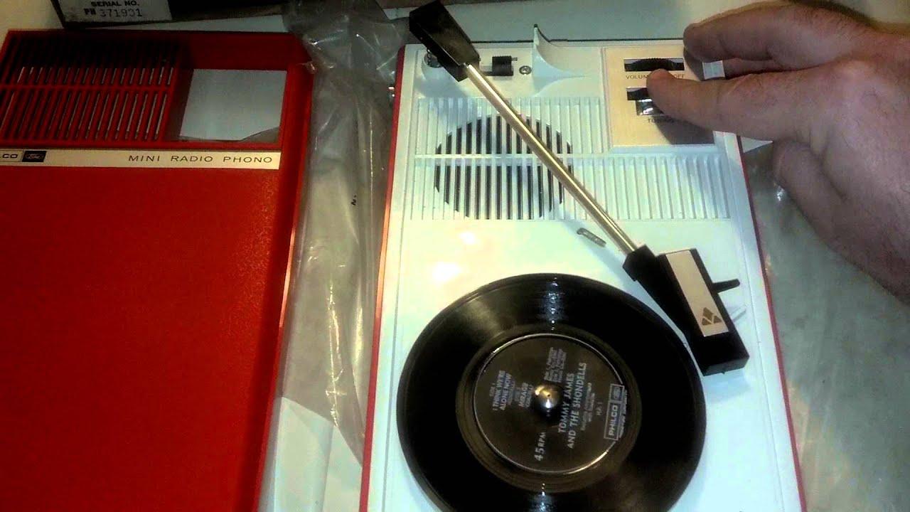 Philco Ford Record Player