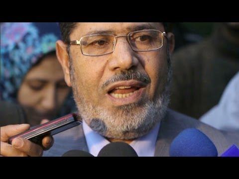 Egypt's President-elect, Mohamed Morsi.
