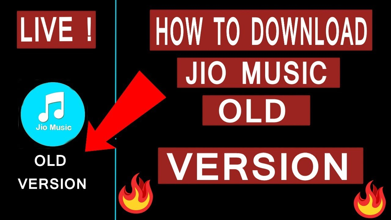 How To Download Jio Music Old Version