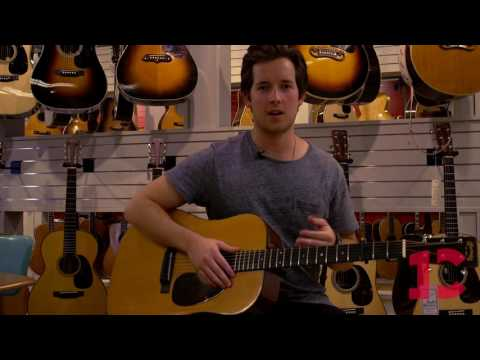 Hudson Moore Gives Tour Of Nashville's Coolest Guitar Store