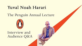 Yuval Noah Harari Interview and Audience Q&A at the Penguin Annual Lecture in India
