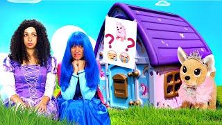 Принцессы ДИСНЕЯ в видео онлайн – Ищем собачку ЧиЧиЛав! – Игра в прятки Hide And Seek Смешные видео