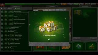 Tanki Online Black Friday Containers Free Gifts 11/24/2017