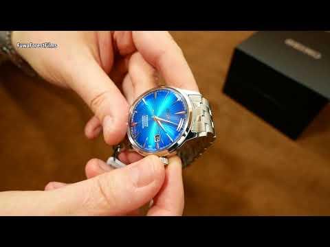 Seiko Presage SRPC45J1 Blue Planet Cocktail Limited Edition (4R35B) Uhr Clock Watch