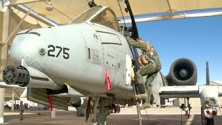 A-10 to Keep on Fighting - Training Exercise at Fort Huachuca