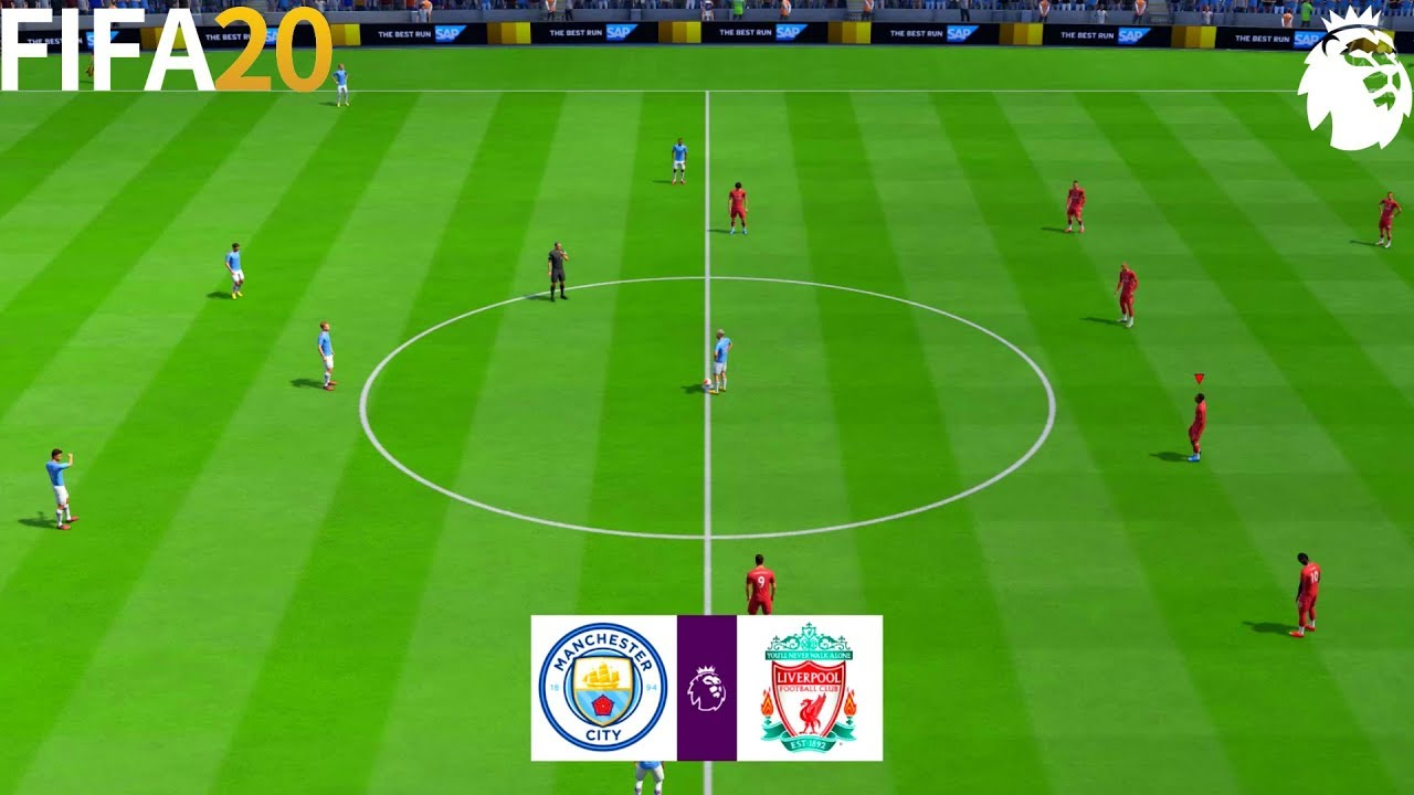 FIFA 20 | Man City vs Liverpool - English Premier League ...