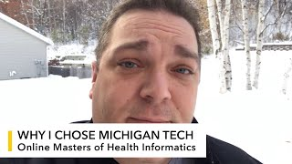 My Michigan Tech: Ryan Higbie