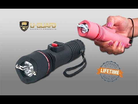 Flashlight Stun Gun Rechargeable Taser Alternative Non ...