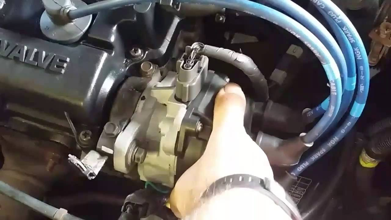 1996 Honda Civic Ex Wiring Diagram How To Set Ignition Timing Youtube