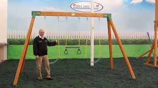Classic Cedar A-frame Swing Set