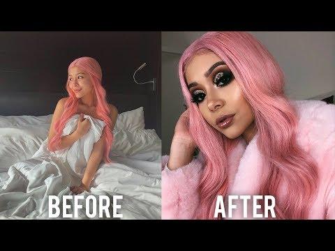 A Very EXTRA Holiday Makeup Transformation thumbnail