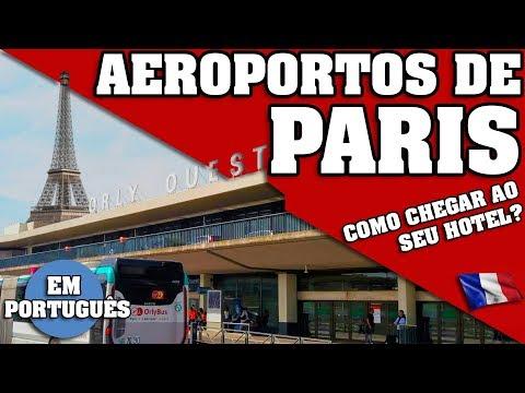 PARIS. COMO CHEGAR A TEU HOTEL DO CHARLES DE GAULLE, ORLY ETC ? SERIE PARIS, PARTE 2 *EM PORTUGUÊS