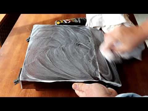 How To Restore A Turntable Dust Cover, Bring Back The Shine. HACK
