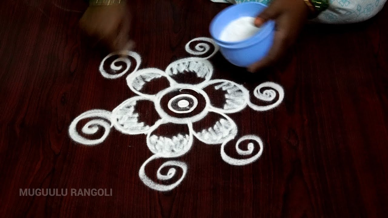 simple and easy rangoli designs simple rangoli designs for beginners ...