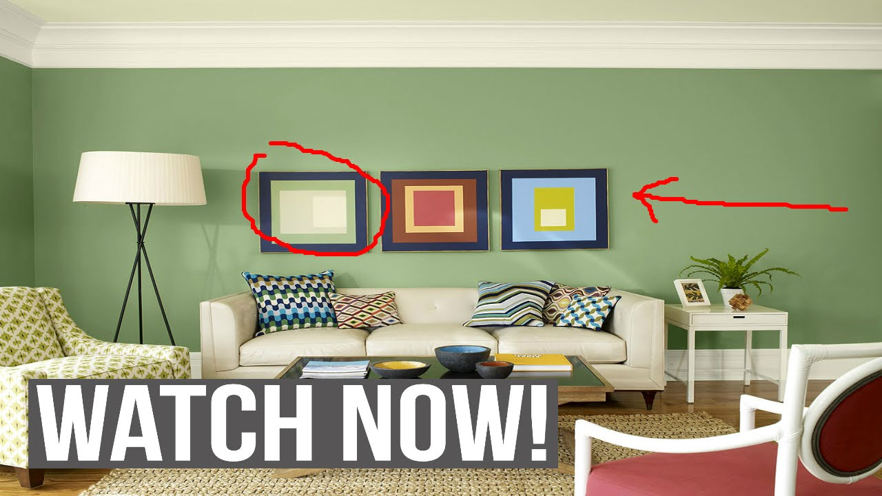 & Good Paint colors for living room !! - YouTube