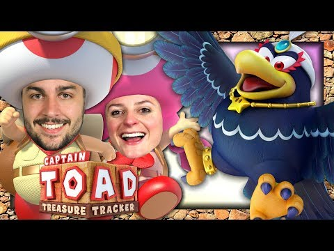 ON SAUVE TOADETTE ! | CAPTAIN TOAD : TREASURE TRACKER CO-OP EPISODE 4 NINTENDO SWITCH