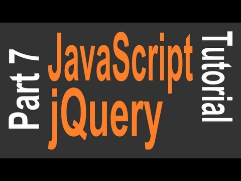 JavaScript & JQuery Tutorial For Beginners - 7 Of 9 - JQuery HTML Manipulation