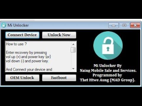 Xiaomi Mi Frp Mi Account Amp Oem Unlock Tool Free Download